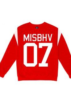 MISBHV - MISBHV BASIC SWEATSHIRT RED