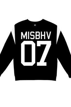MISBHV - MISBHV BASIC SWEATSHIRT BLACK
