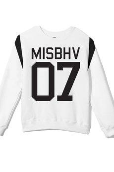 - MISBHV BASIC SWEATSHIRT WHITE