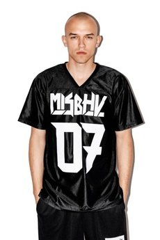 MISBHV - BLACK FOOTBALL JERSEY