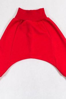 Gapula - Spodenki z obniżonym krokiem czerwone
