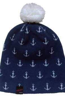 MALENKA HEADWEAR - STILL SAILING beanie NAVY