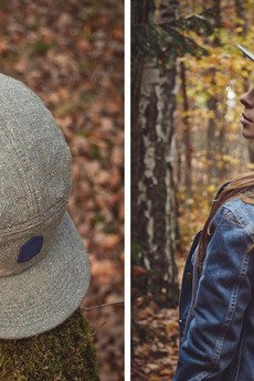 - Grey Clouds - 5 Panel
