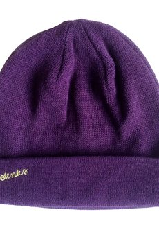 MALENKA HEADWEAR - INDIAN AUTUMN czapka FIOLET
