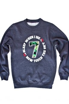 "- TOUCH THE SKY ""Lucky7″ CREWNECK"