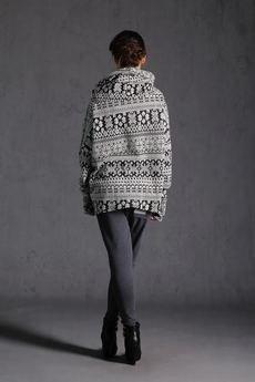 - Nubee - Bluza komin prosty #sniezka