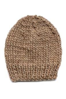 The ADVENTURE Begins - luźna czapka z wełny australijskiej (100% wool)
