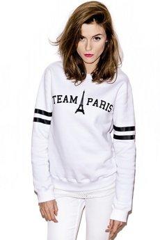 MISBHV - TEAM PARIS SWEATSHIRT WHITE
