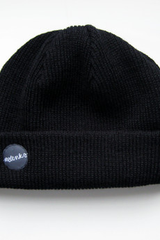 MALENKA HEADWEAR - POPPIES czapka BLACK