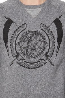 - GLOBE CREW HEATHER GREY UNISEX