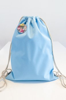 Borba - Nieprzemakalny, błękitny plecak