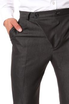 BLUE EYE POP - Klasyczne spodnie z prostymi nogawkami