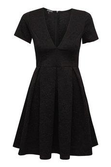 - Sukienka z kontrafałdami DALLAS