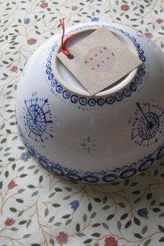MOUSE TAILS - miseczka z granatowym wzorkiem