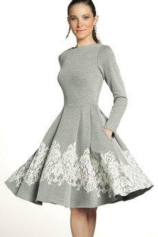 - Sukienka ZUZA Midi    Szroni