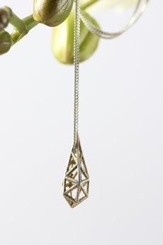 Unikke Design - Naszyjnik mini 3D - stal