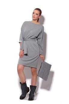 FENOMENALE - dresowa sukienka z zamkiem