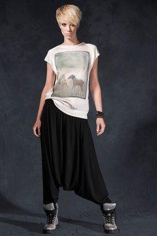 Unicorno spodnie alana czarne