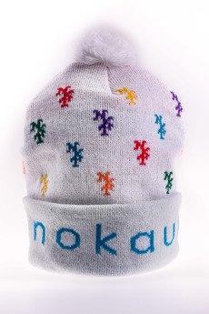 Nokaut Costume - Czapki monogram white