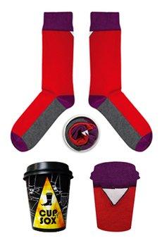 CUP OF SOX - Skarpetka z pewną siebie czerwienią