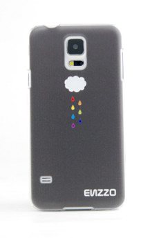 ENZZO - Etui do Samsung Galaxy S5 Cloud+folia+chusta z mikrofibry