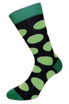 17 grochy czarno zielone