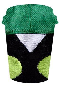 2. grochy zielono czarne