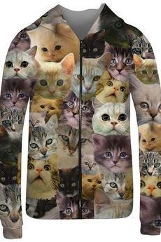 Mr. Gugu & Miss Go - Catz hoodie