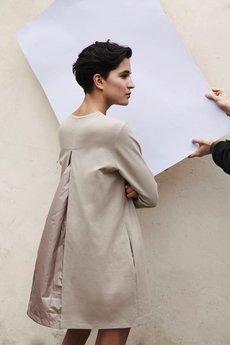 - LOUS/basic/PUFF DRESS/sukienka