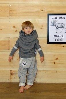 - Gray For A Day- spodnie szare