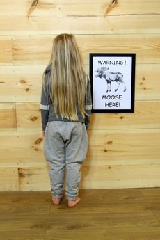 Loose Moose- fashion for Loose kids - Gray For A Day- spodnie szare