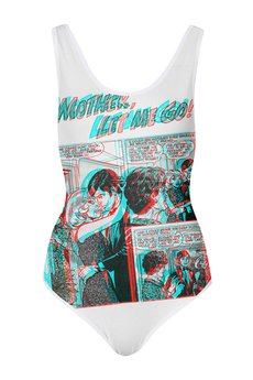 "Love In A Mist - Melody Printed Body ""Comics"""