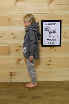 Loose Moose- fashion for Loose kids - Chill Tail- szare spodnie