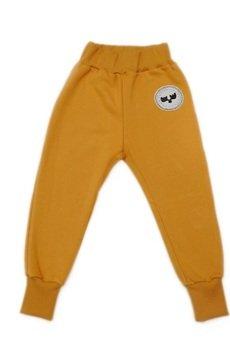 Loose Moose- fashion for Loose kids - spodnie Chill Tail musztarda