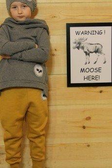 Loose Moose- fashion for Loose kids - bluza Chill Tail grafit/grafit
