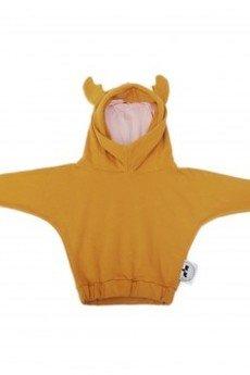 Loose Moose- fashion for Loose kids - bluza Modern Moose musztarda/róż