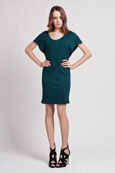 Lanti - Dress with loose sleeves - green - SUK 101