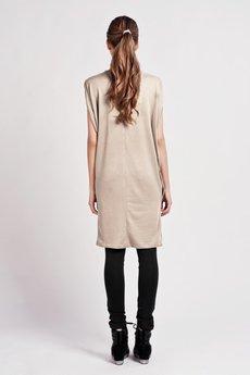 Lanti - Casual kimono dress - mocca- SUK 102