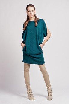 Lanti - Casual kimono dress - green - SUK 102