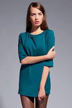 Lanti - Simple tunic - blue - BLU 013