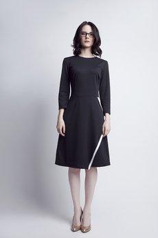Lanti - Sukienka z kopertowym dołem SUK 116