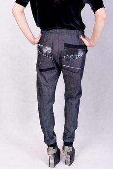 Non Tess - spodnie farbowane nirvana