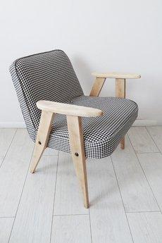 Fotel 366 Z Lat 60 Tych Proj Józef Chierowski Biały