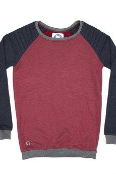 - Trish Burgundy Sweatshirt