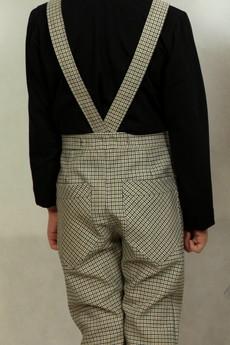 - Eleganckie spodnie w kratkę