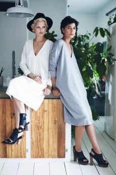 LOUS - LOUS/CHALLENGE/sukienka PROUD grey