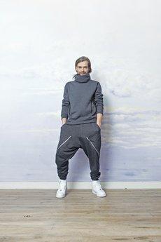 RISK made in warsaw - bluza męska KOMIN grafit