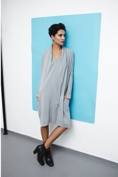 LOUS - LOUS/basic/COLLAR DRESS/sukienka