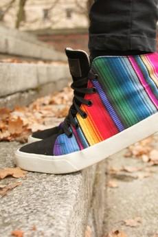 Inkkas - Buty Inkkas Rainbow Leather Midtop