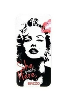 ENZZO - Etui do iPhone6 Marilyn+folia+chusta z mikrofibry
